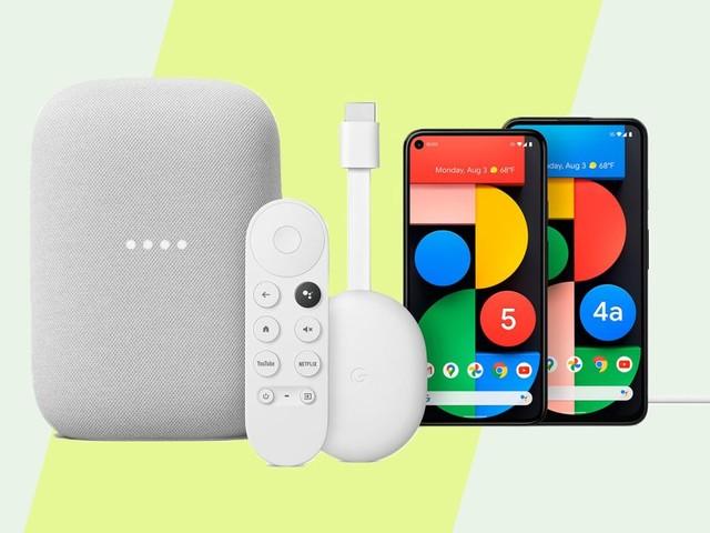 Google presenta Pixel 4a 5G, Pixel 5, Chromecast con Google TV e Nest Audio