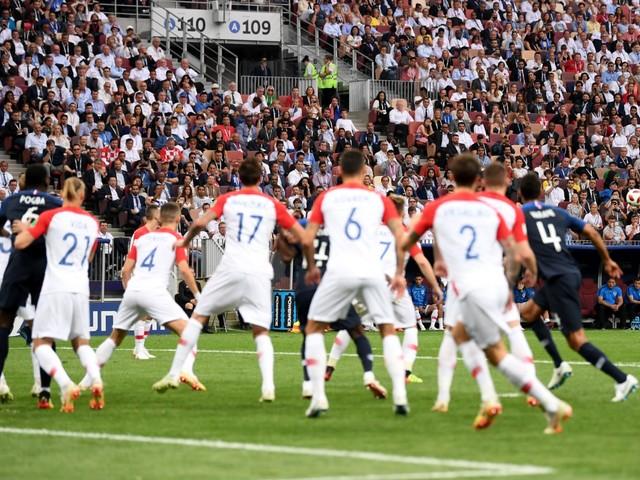 Mondiali 2018, LIVE Francia-Croazia: 2-1, Griezmann su rigore concesso con il Var