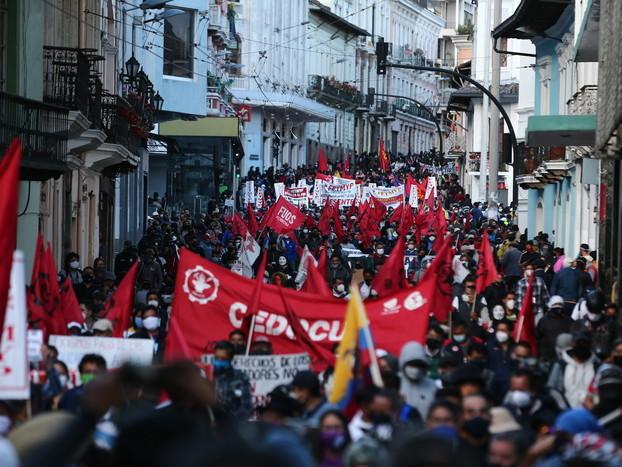 Ecuador: manifestazione contro il governo, incidenti a Quito