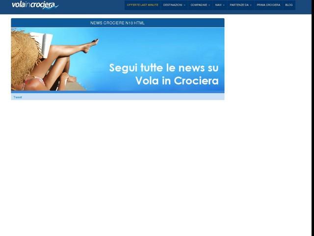 Crociere 2013: l'industria crocieristica torna a crescere in Italia - 12/03/2013