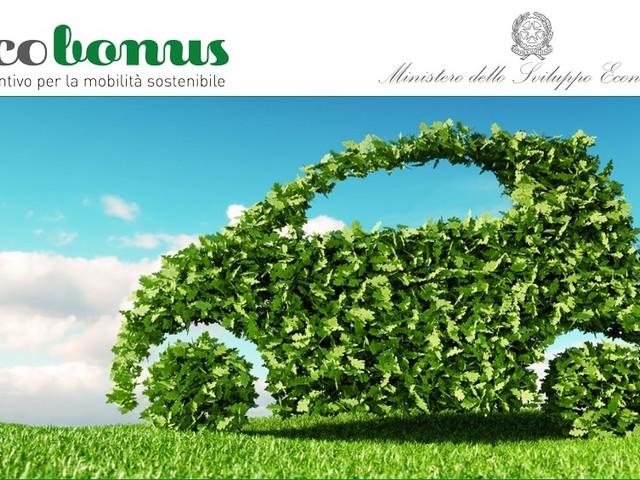 Ecobonus per i veicoli non inquinanti, online il sito per gli incentivi