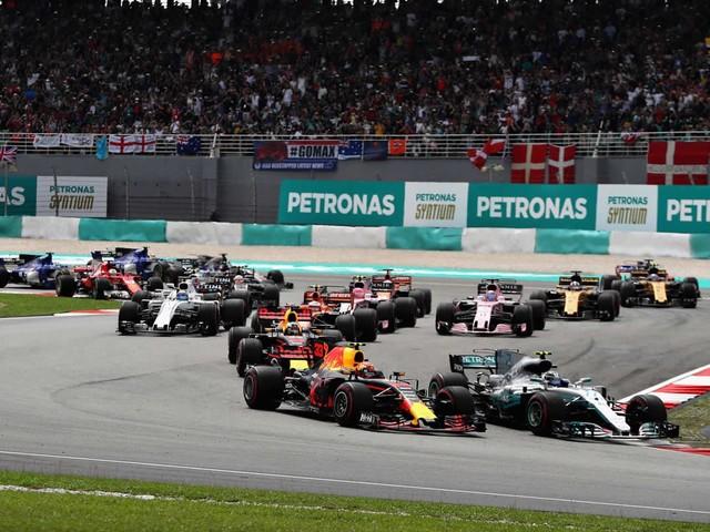 GP della Malesia<br> - Vince Verstappen. Vettel quarto in rimonta