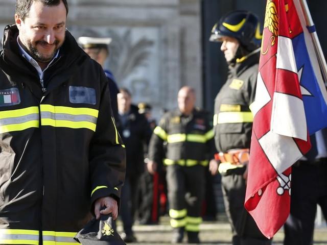 Matteo Salvini: 'Previsti 10 milioni di euro per le famiglie delle vittime di Rigopiano'