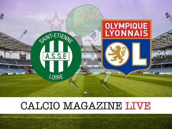 St. Etienne – Lione: diretta live, risultato in tempo reale