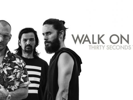 Video, testo e traduzione di Walk On Water dei Thirty Seconds To Mars, primo singolo del nuovo album