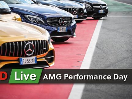 AMG Performance Day a Monza: storia, passione e adrenalina per i 50 anni del marchio