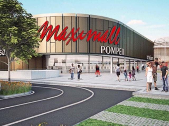 Maximall Pompei: si attende l'apertura del centro commerciale che creerà 1.500 posti