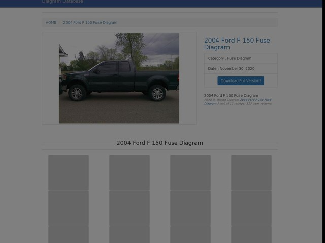 Ford F 150 Fuse Diagram
