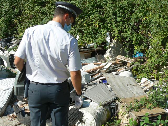 Montemarciano: discarica abusiva soperta e smantellata dalla Guardia di Finanza