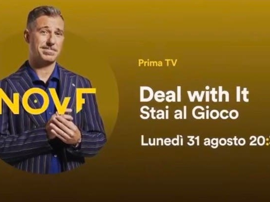 Deal With It: Gabriele Corsi apre la stagione il 31 agosto sul Nove