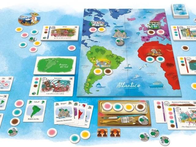 Atlantico, il gioco da tavola di Marco Mengoni è un bellissimo viaggio alla scoperta del mondo