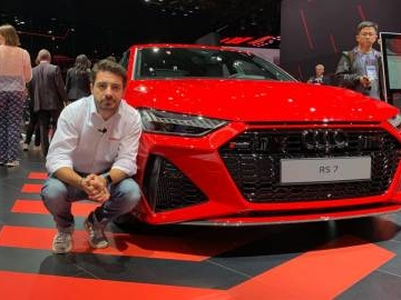 Audi RS7 Sportback in video dal Salone di Francoforte 2019