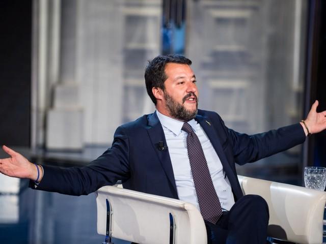 """Umbria, Salvini contro i giallorossi """"Non vengono in piazza perché hanno paura"""""""