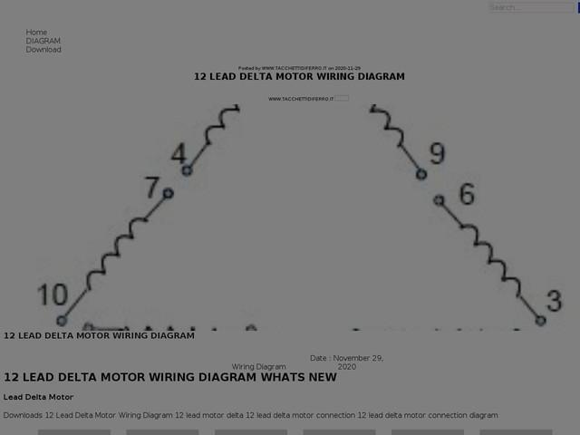 Lead Delta Motor Wiring Diagram