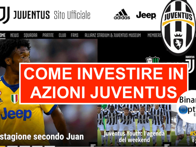 Come investire in azioni Juventus FC e Roma AS in tempo reale