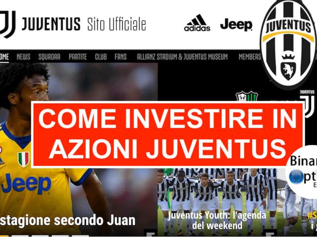 Come investire in azioni Juventus FC e Roma AS in tempo reale