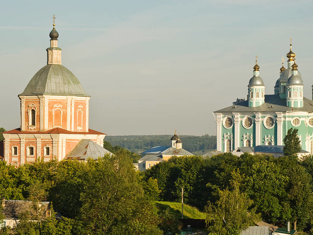 La cattedrale di Smolensk sulle orme di Prokudin-Gorskij