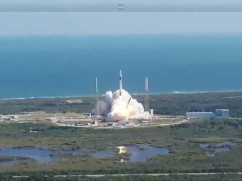 La navicella spaziale SpaceX Dragon è partita per la missione CRS-19 per conto della NASA