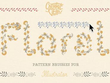 A Huge Compilation of 39 Free Illustrator Brushes