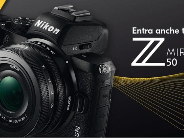 Nikon Z 50, promozione speciale con 100 euro di sconto