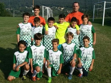 Il calcio torna a brillare a Mercallo. Con la nuova squadra di Esordienti