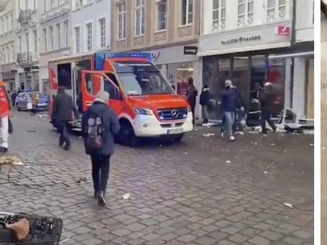 Auto sulla folla in Germania: almeno 2 vittime e 15 feriti