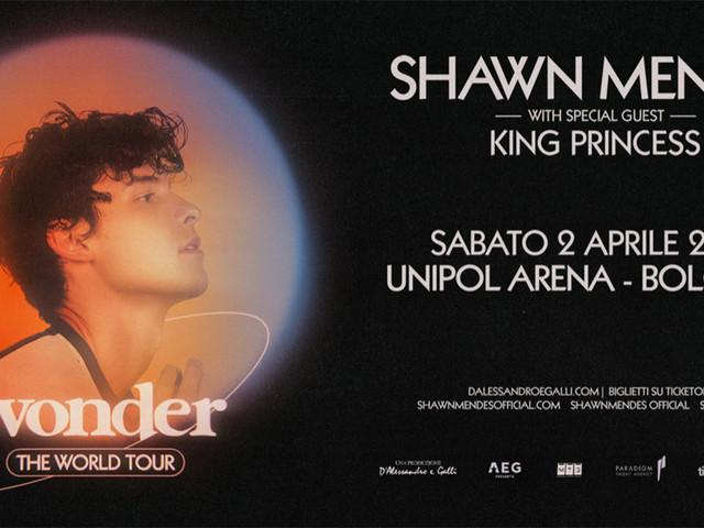 Shawn Mendes a Bologna nel 2022, biglietti in prevendita per l'unico concerto in Italia