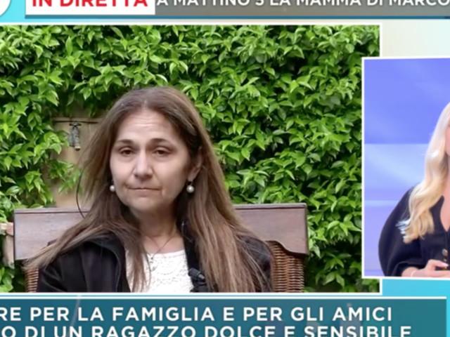 """Omicidio Vannini, la mamma di Marco: """"Presto associazione dedicata a nostro figlio"""""""