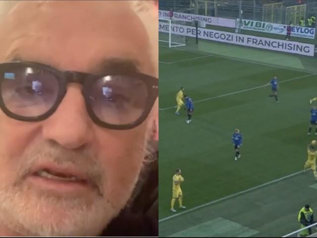 """Atalanta-Verona, Briatore contro il VAR: """"Gli arbitri sono scarsi e incapaci"""""""