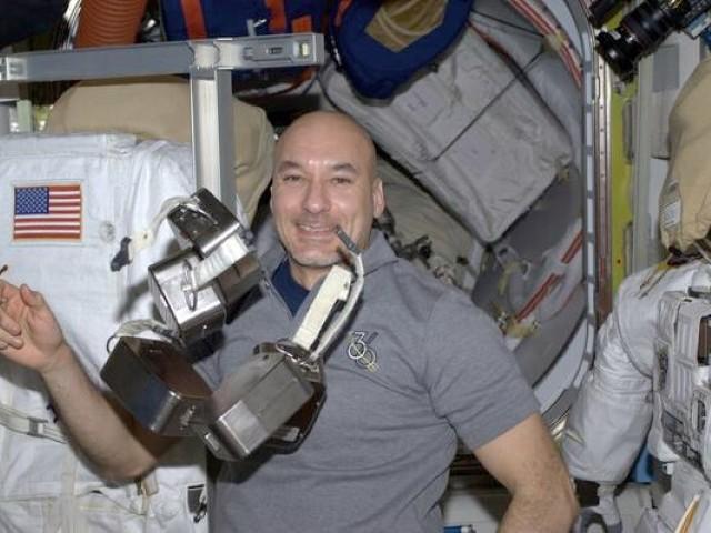 Luca Parmitano nello spazio con 600 sensori di Fbk