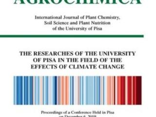 Le attività di ricerca dell'Università di Pisa sul cambiamento climatico, dalla A alla Z