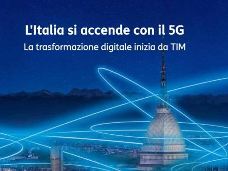 Le prime città con la rete 5G TIM in Italia, il video ufficiale del servizio