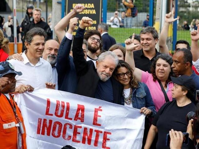 C'è l'ok del giudice: Lula torna in libertà