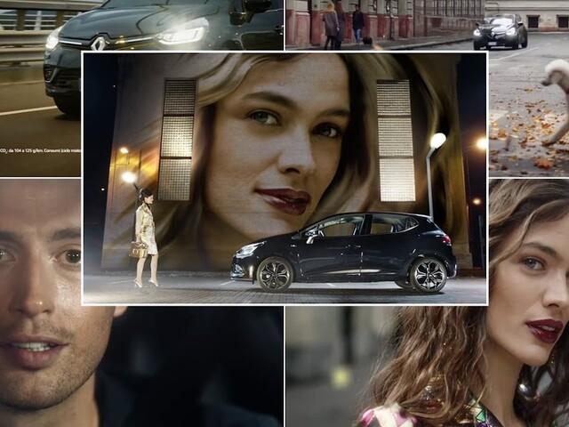 Le modelle della pubblicità Renault Clio Moschino - musica spot