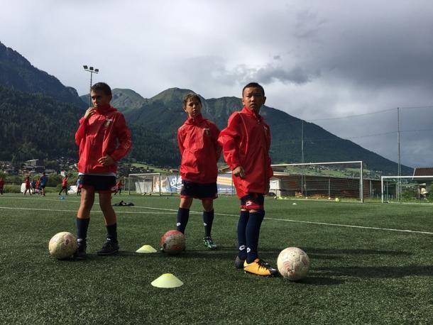 Quattro talenti cinesi al Genoa Camp: «Sogniamo la serie A» |
