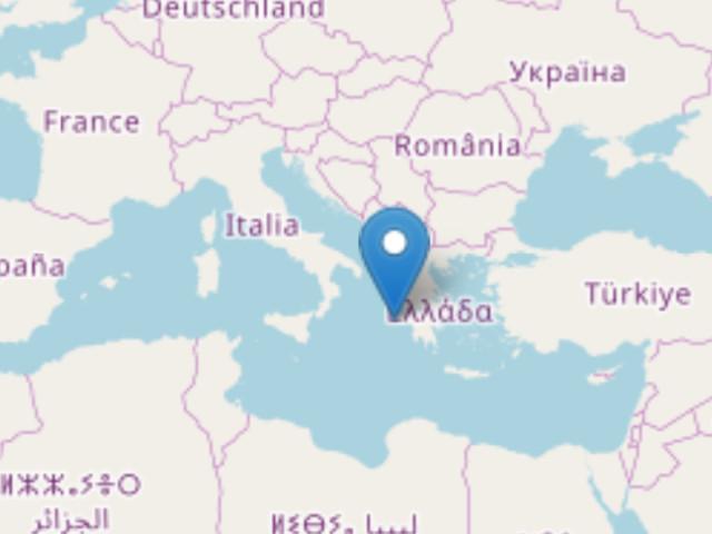 Terremoto di magnitudo 5 dall'altra parte del mar Ionio Alle 0,44 ora italiana, epicentro costa greca