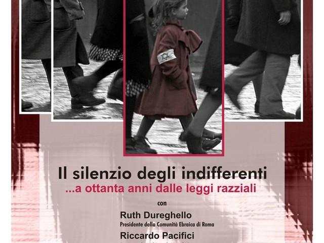 """Brindisi: stamani a scuola l'incontro con il presidente della comunità ebraica di Roma Ruth Dureghello e Riccardo Pacifici al """"Giorgi"""" per """"Il silenzio degli indifferenti-a ottant'anni dalle leggi razziali"""""""