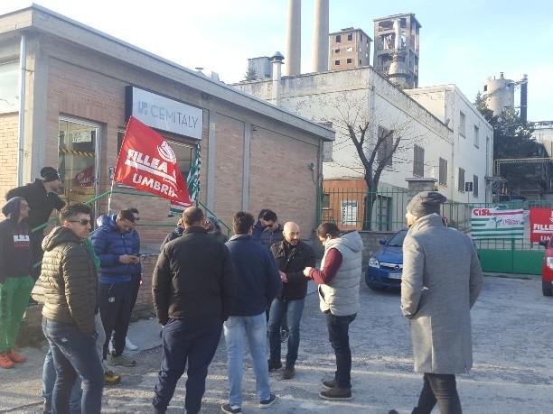 Cementi Spoleto, preoccupazione dei sindacati sul futuro aziendale