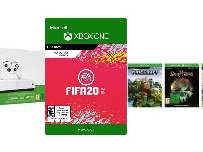 Xbox One S 1TB All Digital Edition in offerta a 179,99 Euro con 4 giochi (incluso FIFA 20)