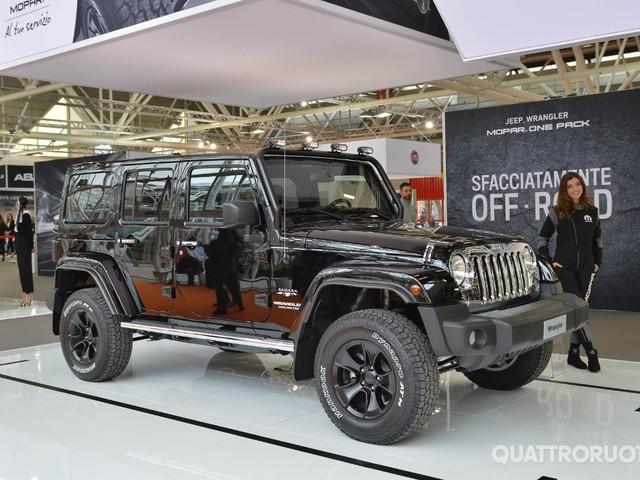 Jeep - In mostra a Bologna quasi tutta la gamma