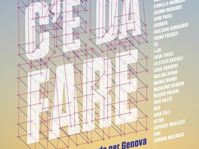 C'è Da Fare, la canzone di Kessisoglu & Friends per Genova: conferenza