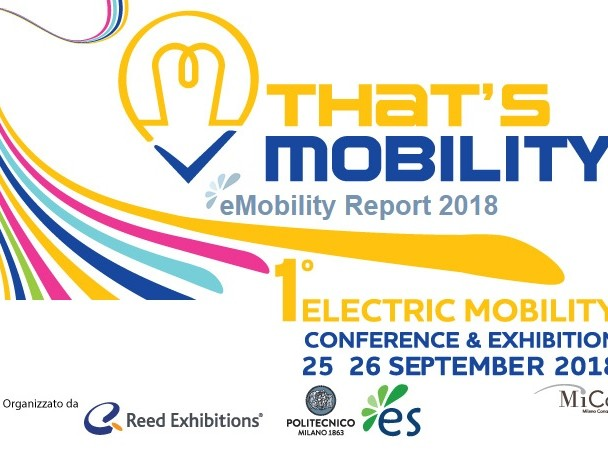 E-Mobility Report 2018: auto elettriche in crescita in Italia ma resta lontana dai big Ue