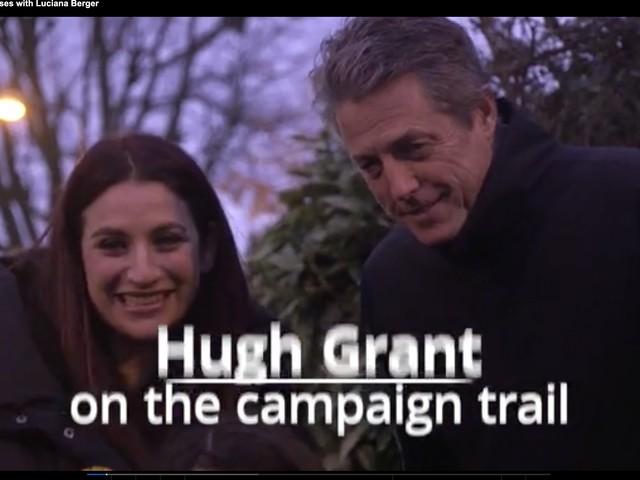 Se bussano alla porta potrebbe essere Hugh Grant