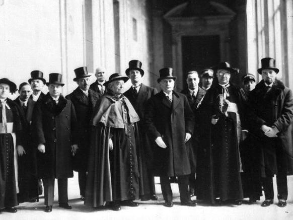 """I 90 anni dei """"benedetti"""" Patti Lateranensi"""