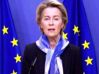 """Recovery, von der Leyen: """"Ci aspettiamo che gli Stati membri completino le ratifiche entro la fine di maggio"""""""