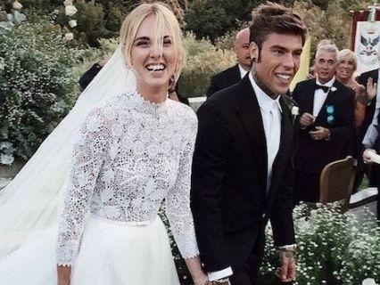 Ferragnez ecco le foto pi ugrave belle del loro matrimonio