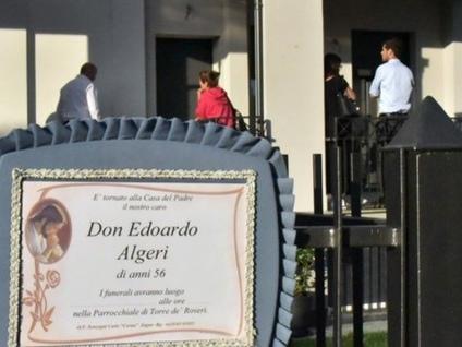 Chiesa in lutto, addio a don Algeri «Compagno di viaggio di ogni famiglia»