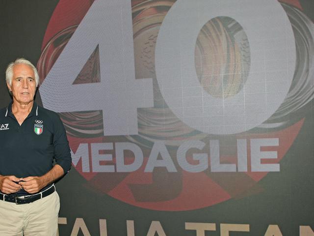 """Malagò: """"Olimpiade da record, abbiamo reso felice l'Italia"""""""
