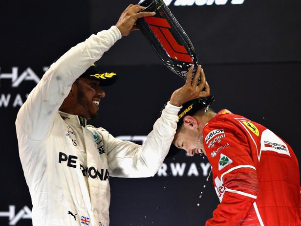 """Hamilton: """"Io e Vettel come Federer-Nadal"""""""