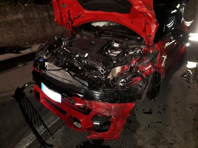 Incidente nei pressi di Partinico, scontro tra due auto sette feriti (FOTO)